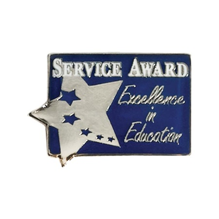 Service Award Pin - Excellence in Education