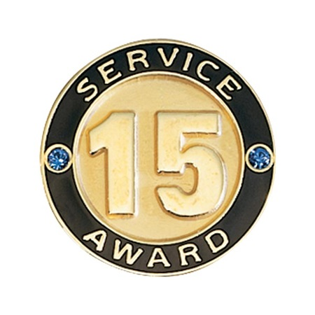 Service Award Pin - 15 Years