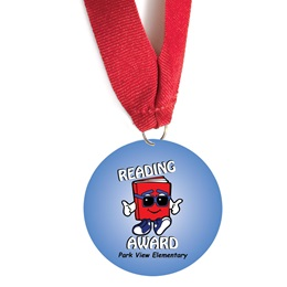 Custom Medallion - Reading Award