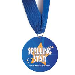 Custom Medallion - Spelling Star