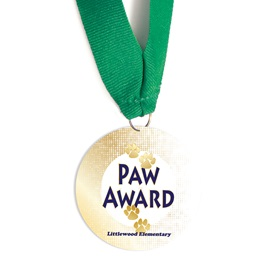 Custom Medallion - Paw Award