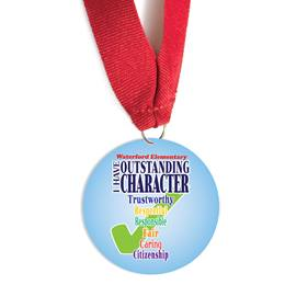 Custom Medallion - Outstanding Character