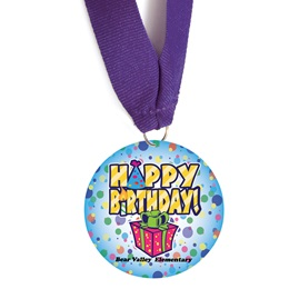 Custom Medallion - Happy Birthday