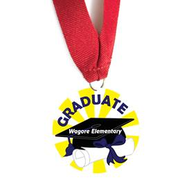 Custom Medallion - Graduate