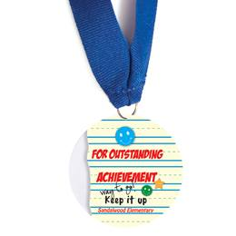 Custom Medallion - Outstanding Achievement