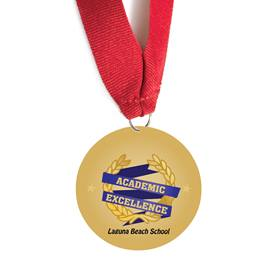 Custom Medallion - Academic Excellence