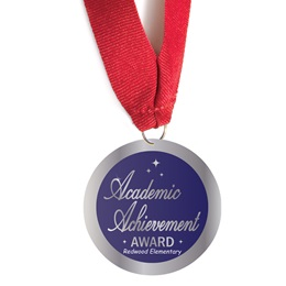 Custom Medallion - Academic Achievement Award