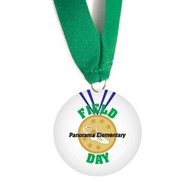 Custom Medallion - Gold Medal Field Day