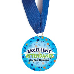 Custom Medallion - Excellent Attendance