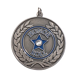 Honor Roll Medallion - Bling Star