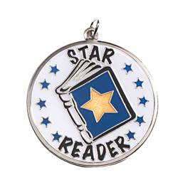 Reading Medallion - Star Reader
