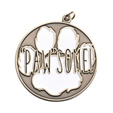 "Paw Medallion - Gold ""Paw""some"