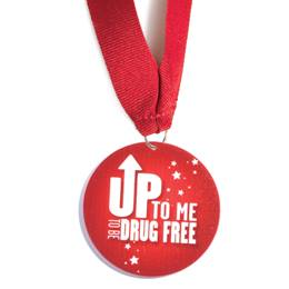 Stock Medallion - Up to Me to Be Drug Free