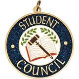 Glitter Medallion - Student Council