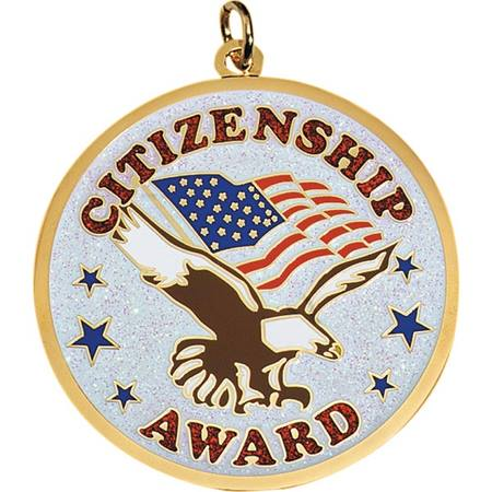 Glitter Medallion - Citizenship