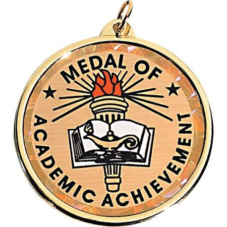 Holographic Medallion - Academic Achievement
