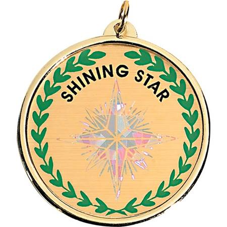 Holographic Medallion - Shining Star