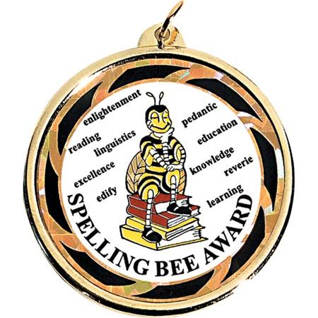 Holographic Medallion - Spelling Bee