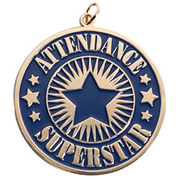 Attendance Superstar Medallion