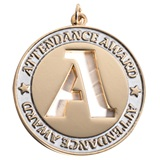 Attendance Award Die-cut Medallion
