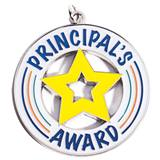 Principal's Award Die-cut Medallion