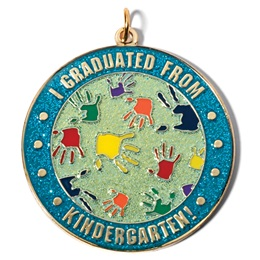 Kindergarten Graduation Medallion