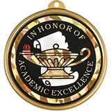Holographic Medallion - In Academic Excellence