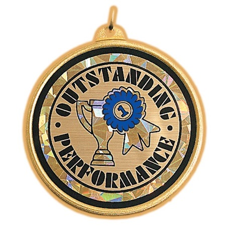 Holographic Medallion - Outstanding Performance
