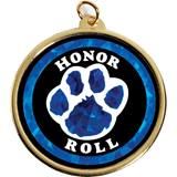 Holographic Medallion - Blue Paw Honor Roll