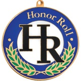 Colored Medallion - Honor Roll
