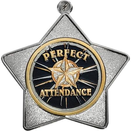 Star Medallion - Perfect Attendance