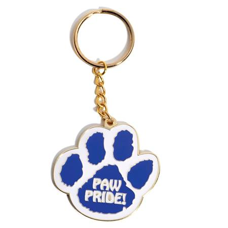 Paw Pride Key chain Medallion