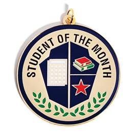 Student of the Month Magnet Medallion