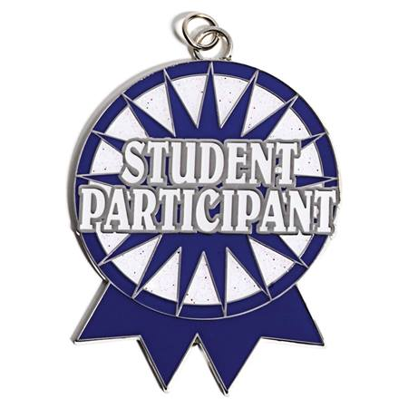 Student Participant Shaped Medallion