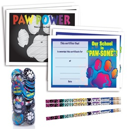 180-Piece Mega Award Set - Paw