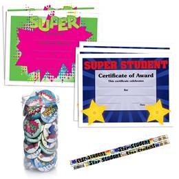 180-piece Mega Award Set - Super Student