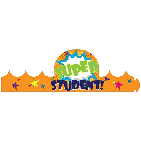 Paper Crown - Super Student