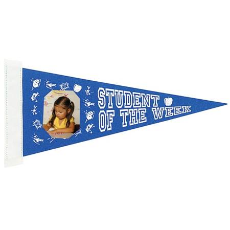 Photo Pennant - Student of the Week