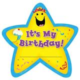 It's My Birthday Star Badge, 36/pkg