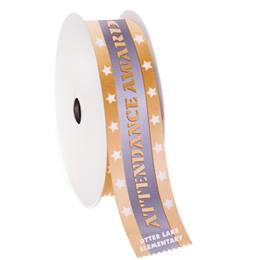 Custom Award Ribbon Roll - Attendance Award
