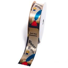 Deluxe Custom Award Ribbon Roll - Honor Roll
