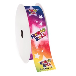 Custom Award Ribbon Roll - Honor Roll Stars