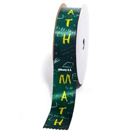 Deluxe Custom Award Ribbon Roll - Math