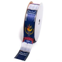 Deluxe Custom Award Ribbon Roll - Principal's List