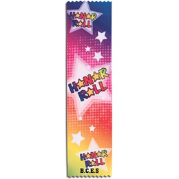 Full-color Custom Ribbon - Neon Honor Roll