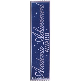 Full-color Custom Ribbon - Academic Achievement