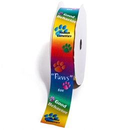 "Custom Award Ribbon Roll - ""Paws"" For Good Behavior"