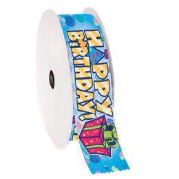 Award Ribbon Roll - Happy Birthday Present
