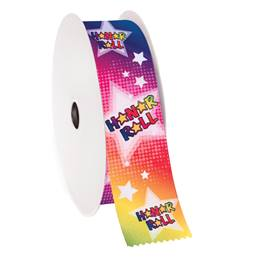 Award Ribbon Roll - Honor Roll Stars