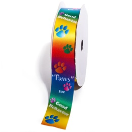 "Award Ribbon Roll - ""Paws"" for Good Behavior"